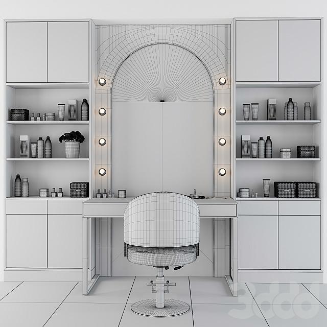 Beauty Salon - Makeup Table