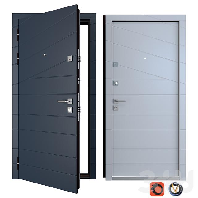 Входная металлическая дверь Line (Zimen)