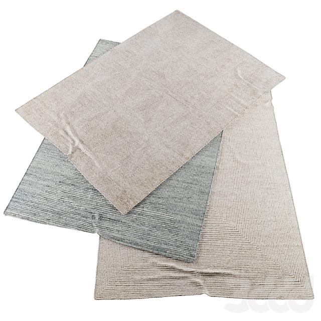 Коллекция реалистичных ковров | RH Ellipse hand-knotted wool and Mosaic silk rugs