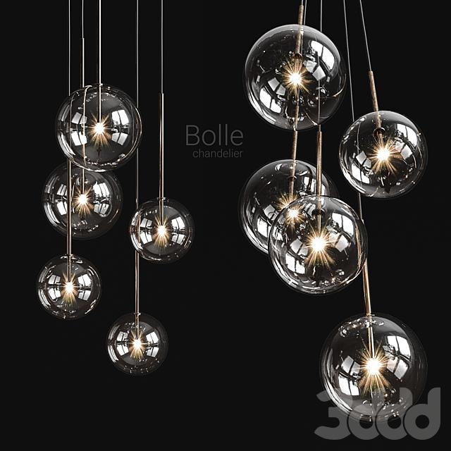 Chandelier Gallotti & Radice Bolle Solo