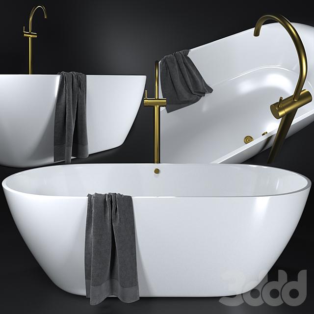 Estet Miami bath with Scala basin mixer
