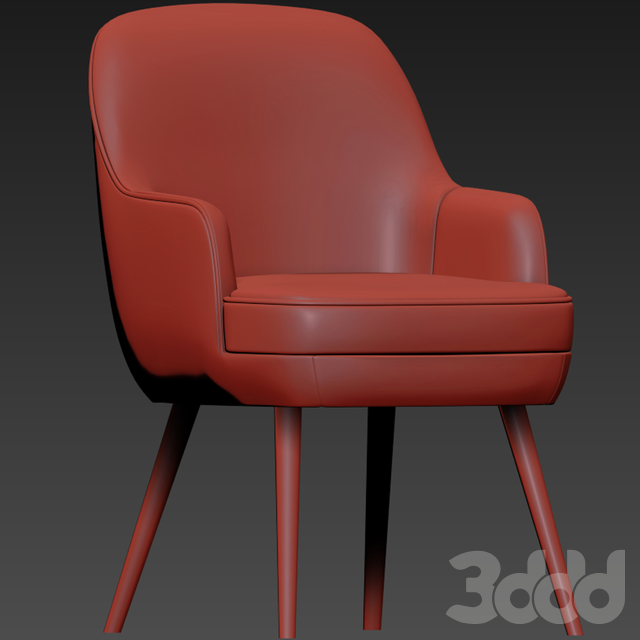 375 Walter Knoll Dining Chair