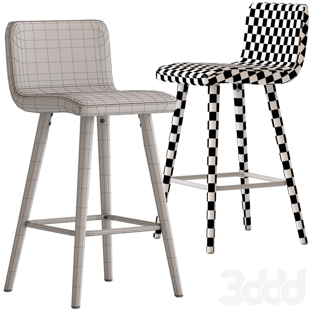 Temple&Webster Tan Faux Barstool