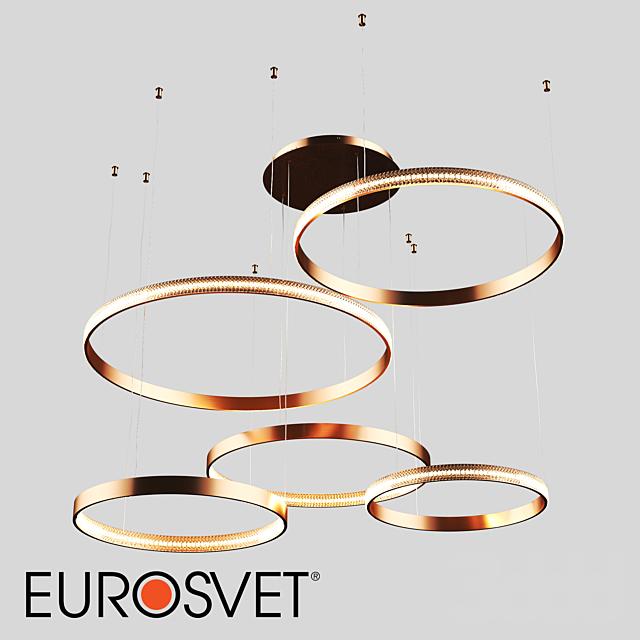 ОМ Подвесной светодиодный светильник Eurosvet 90175/5 медный Posh