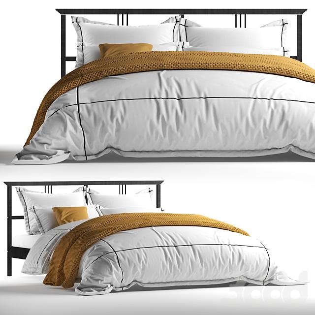 IKEA RYKENE Bed x Adairs Australia