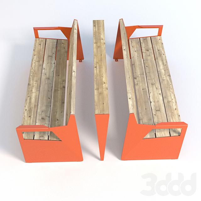 Vestre BLOC Seat with armrests