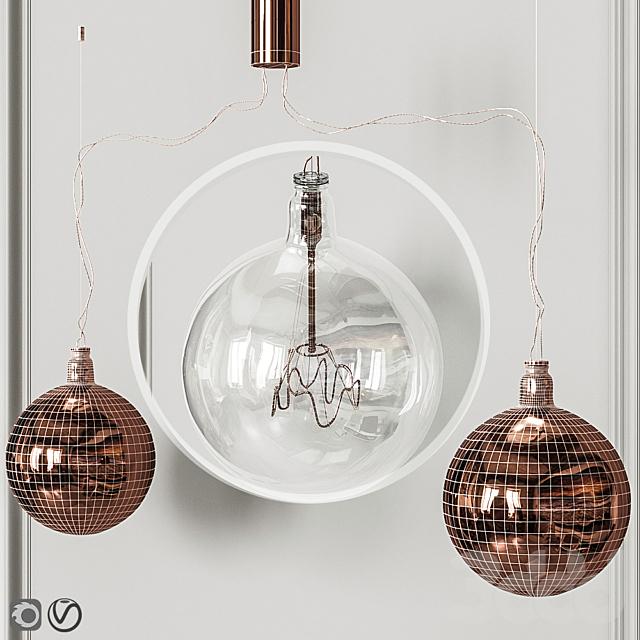 Подвесной светильник Flos Bulbo 57 type 1