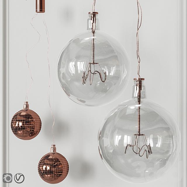 Подвесной светильник Flos Bulbo 57 type 2