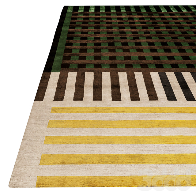 Grid Construct Rug by The Rug Company