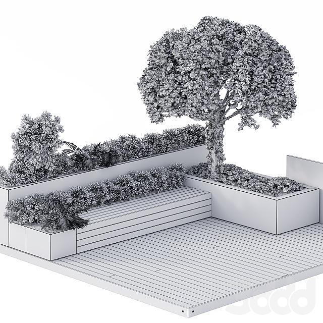 Roof Garden Furniture Seating and Garden Set