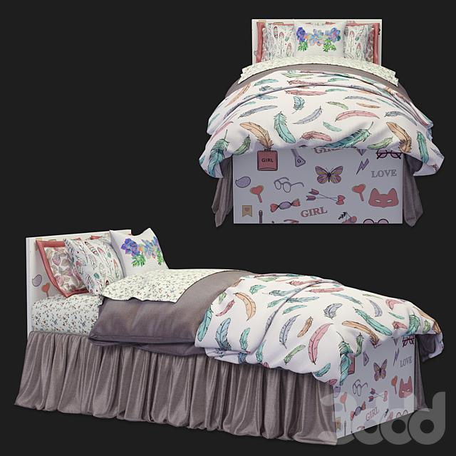 кровать Париж Tesca