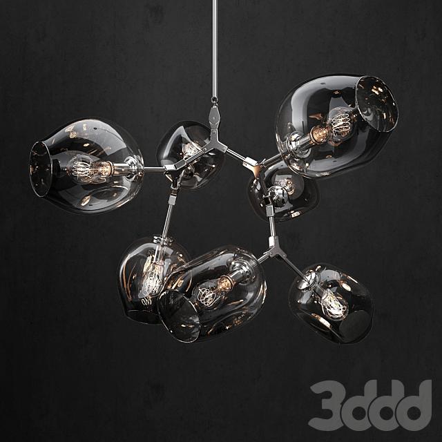 Branching bubble 7 lamps 2