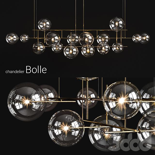 Chandelier Gallotti & Radice Bolle horizontal big