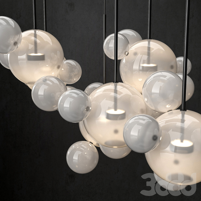 Chandelier Giopato & Coombes Bolle 24 lights 2