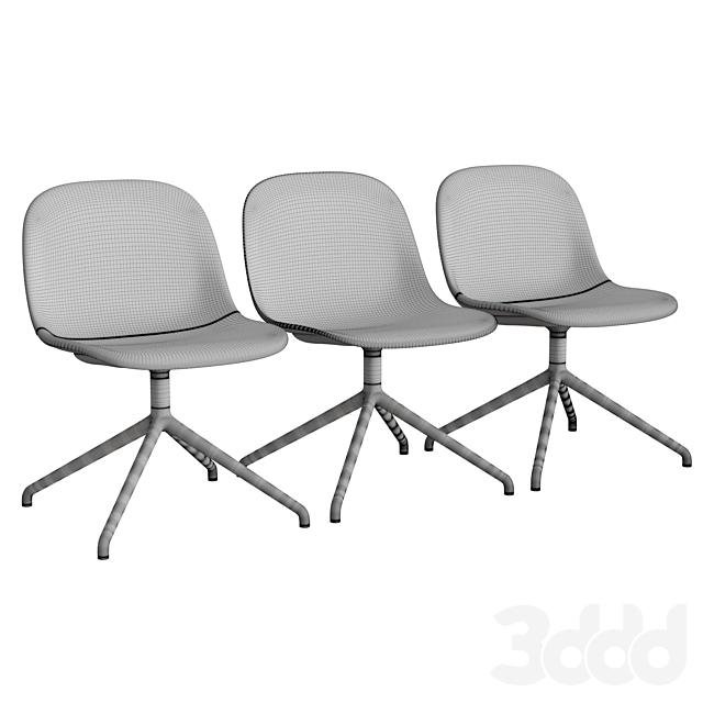 Fiber Side Chair Swivel Base