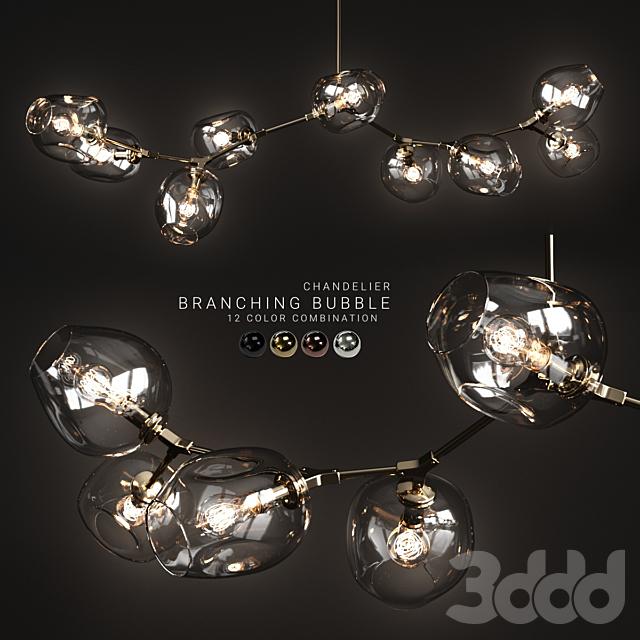 Branching bubble 9 lamps 2