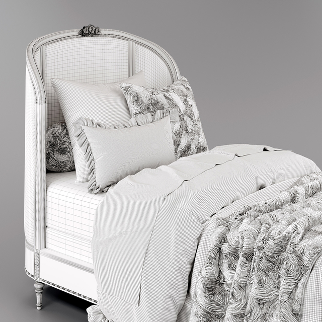 Aveline bed, Restoration Hardware