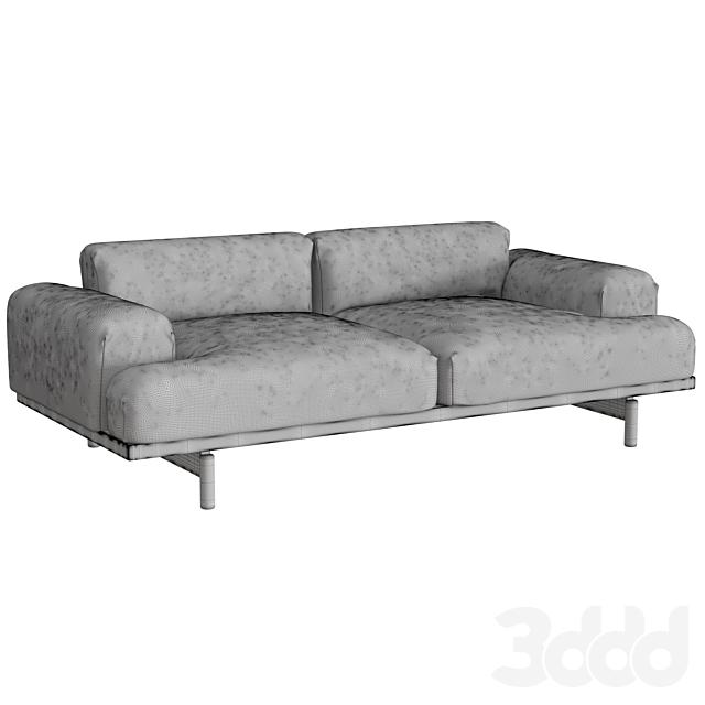 Compose Sofa 2 Seater