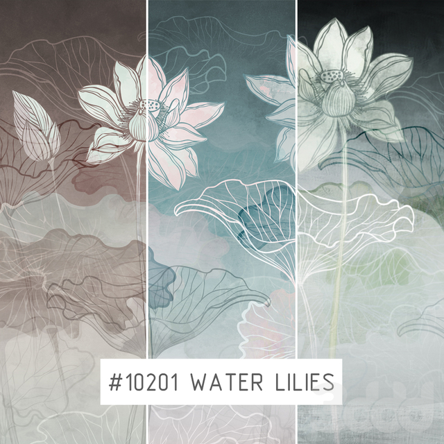 Creativille | Wallpapers | Water lilies 10201