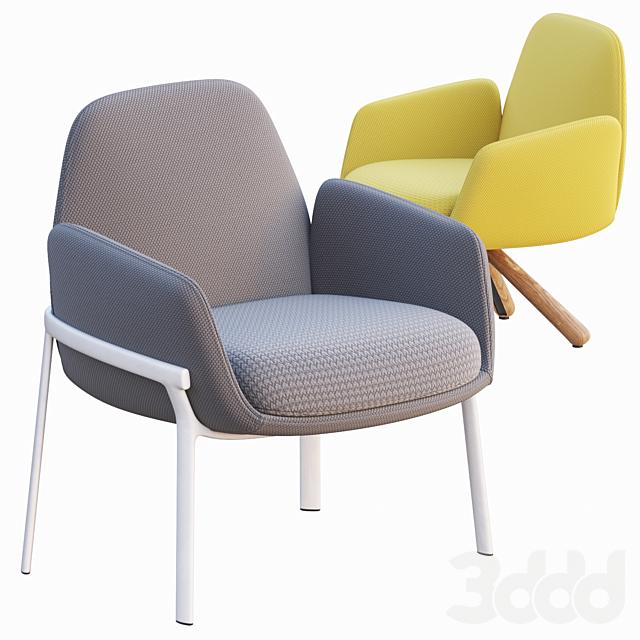 AVE Haworth Poppy Lounge Chair