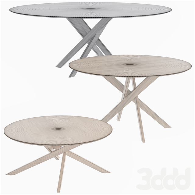 Apex Round Table Crate and Barrel