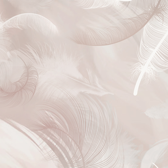 Creativille | Wallpapers | Flying feathers 400050
