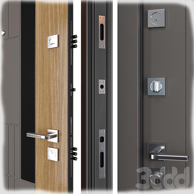 Входная металлическая дверь Grattel (Straj)
