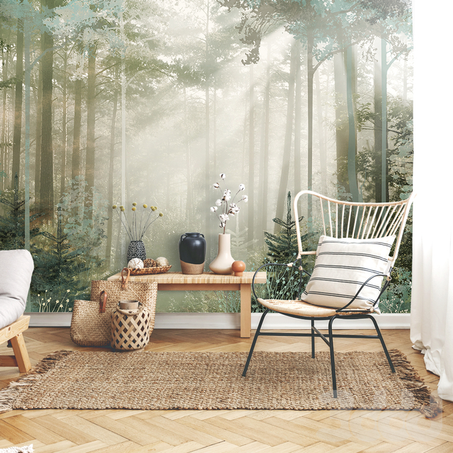 Creativille   Wallpapers   Pine forest 4902