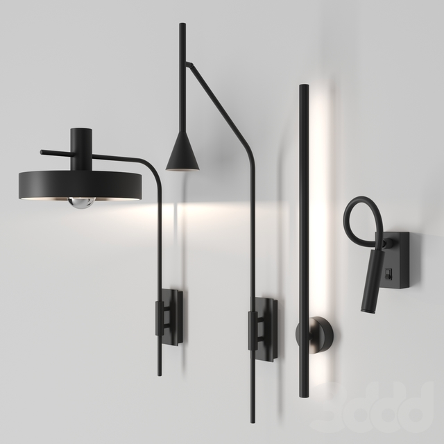 Wall lamps by galea home ( A1227, A1151, A1273, A1274 )