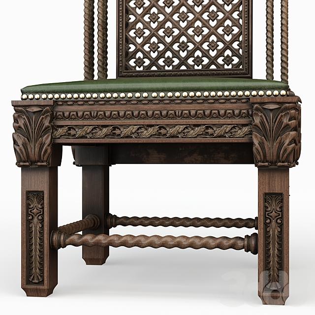 Готический стул