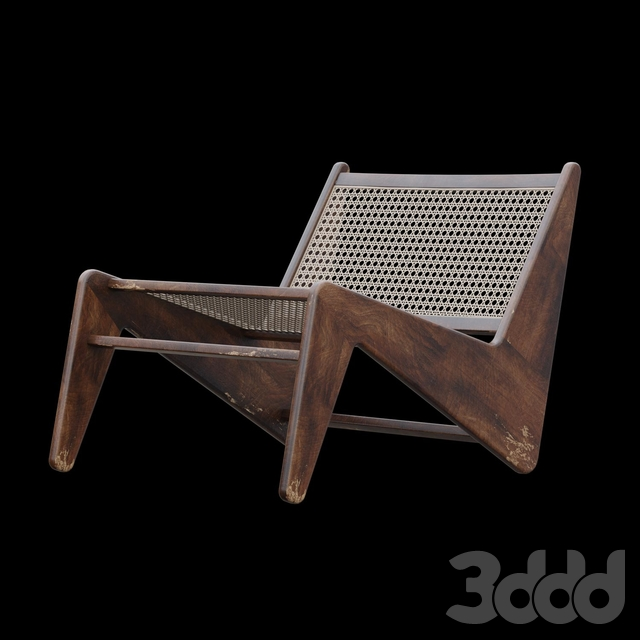 Kangaroo Chair by Pierre Jeanneret