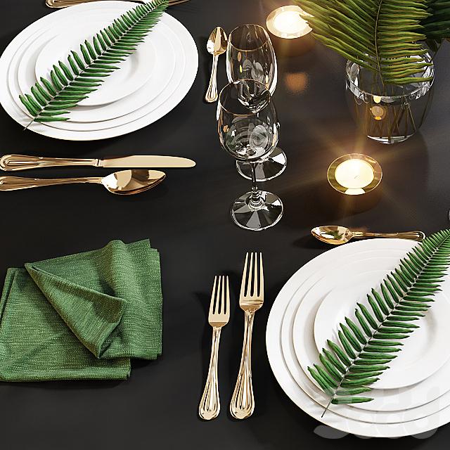 Сервировка стола / Table setting 18
