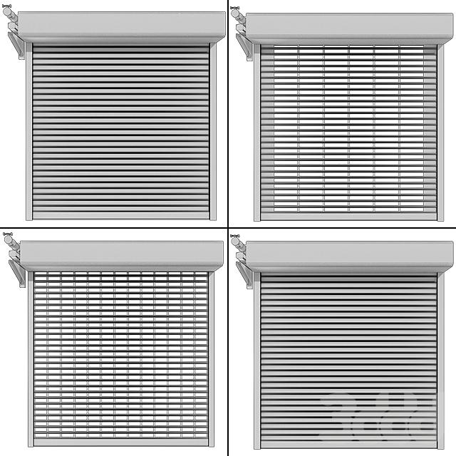 Роллставни с внешним мотором / External motor Roll shutter systems