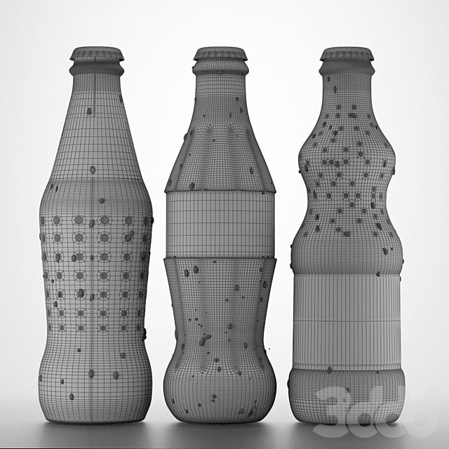 Coca Cola, Fanta, Sprite 0,25l