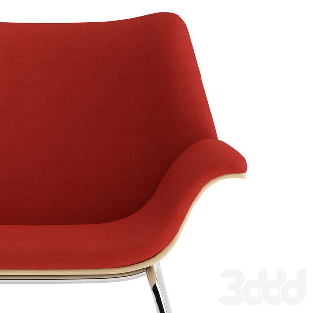 Herman Miller Swoop lounge chair