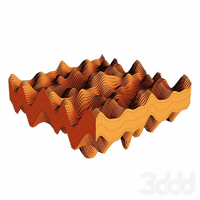 Параметрический деревянный декор