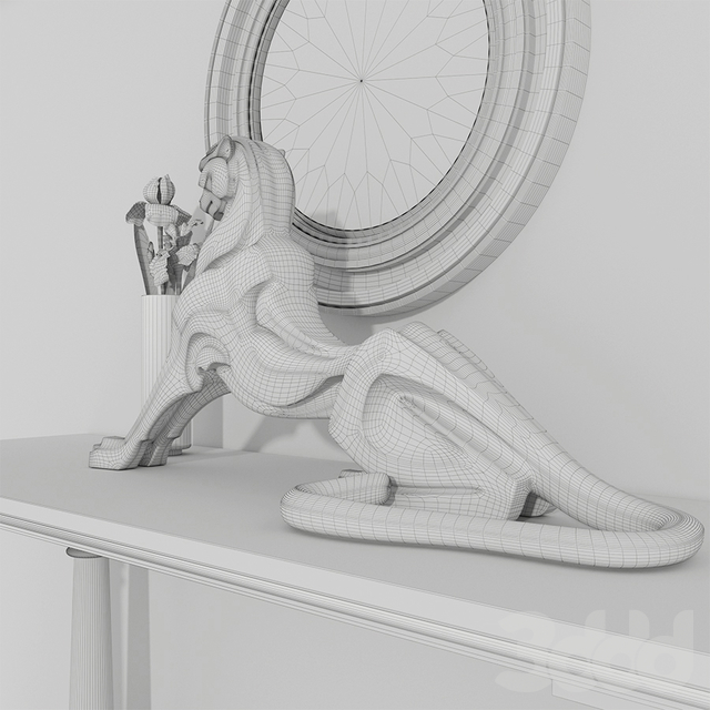 Декоративный набор Eichholtz cheetah