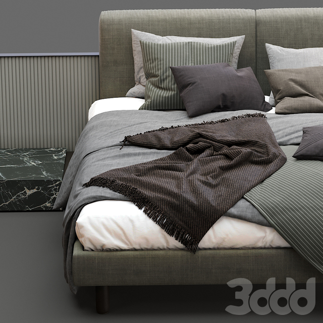 Meridiani Bed CLIFF