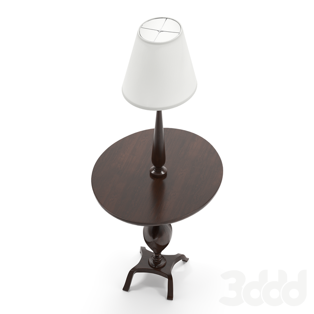 Ovalesque floor lamp