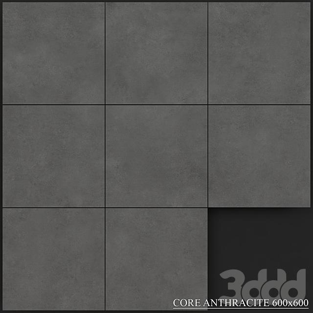 Yurtbay Seramik Core Anthracite 600x600