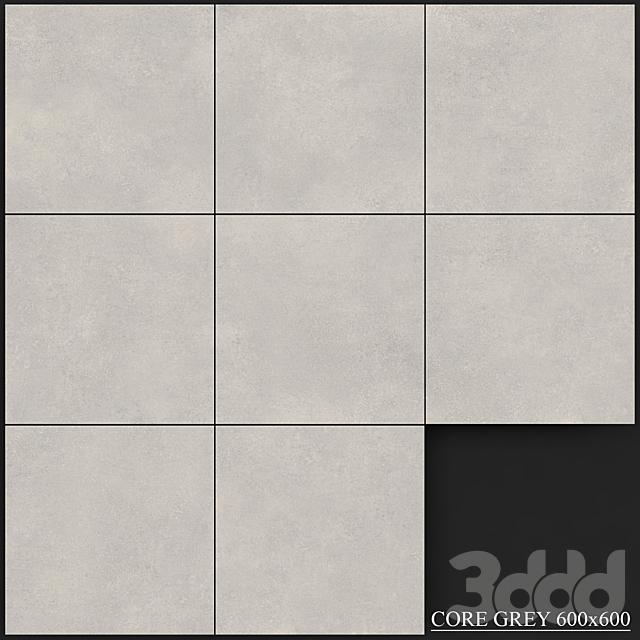 Yurtbay Seramik Core Grey 600x600