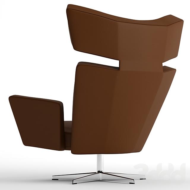 Fritz Hansen Oksen armchair