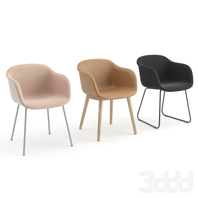 Fiber Armchair Collection by Muuto