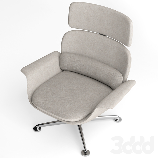Knoll KN High Back lounge chair
