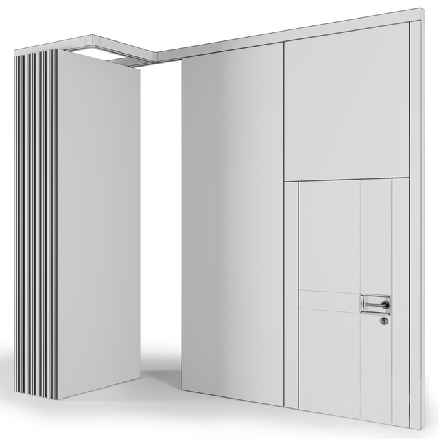 Sound-Proof Sliding Partition Walls