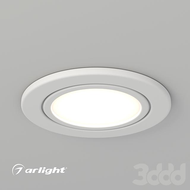 Встраиваемый светодиодный светильник LTM-R60WH-Frost 3W
