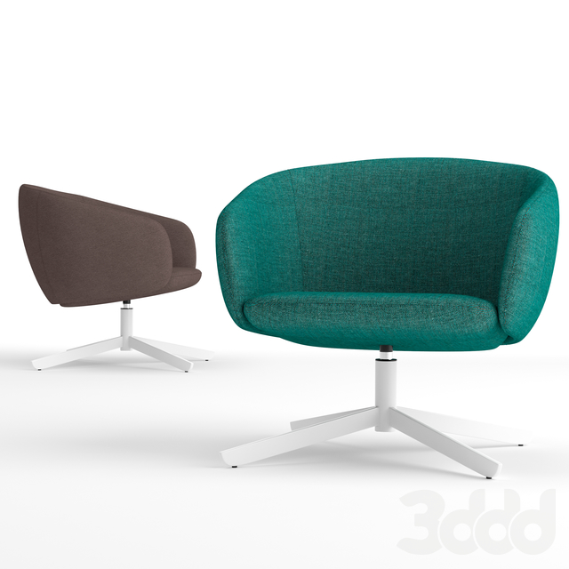 True Design Not Low Back lounge chair