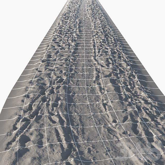 Зимняя тропинка 13 метров