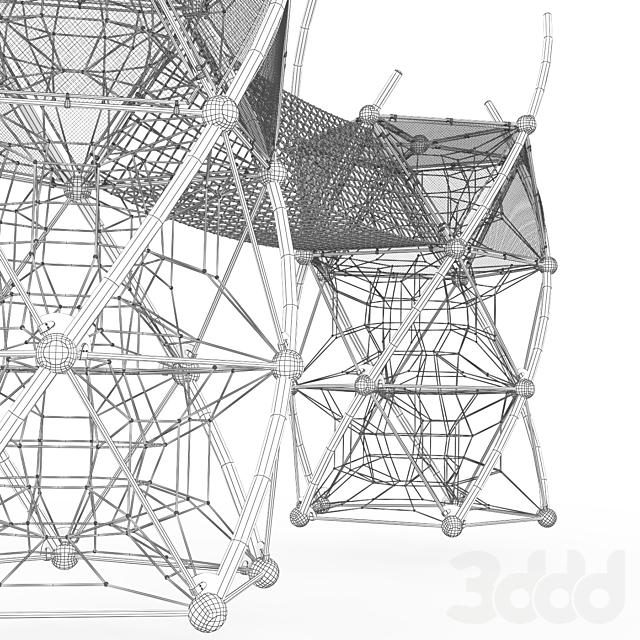 Игровой комплекс  Berliner DNA Tower