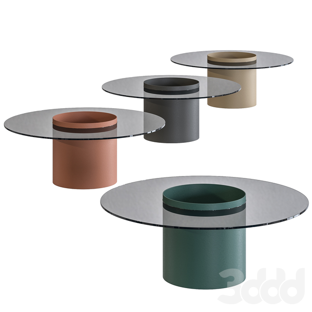Bucket Tables by Bla Station